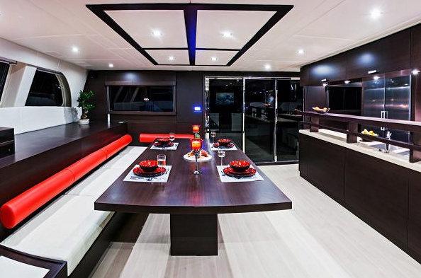 Sunreef 70 Yacht FENG - Dining