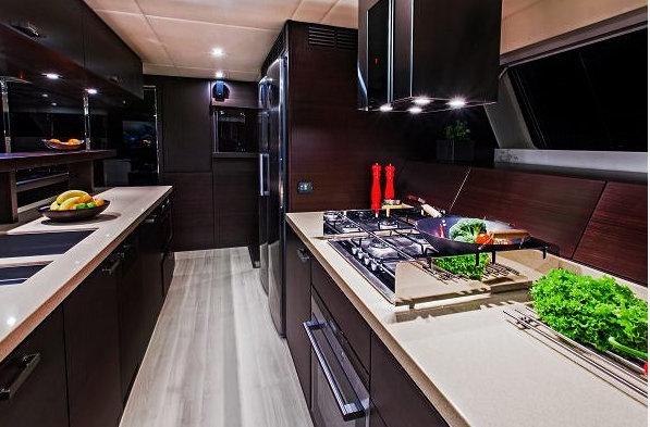 Sunreef 70 luxury yacht FENG - Galley