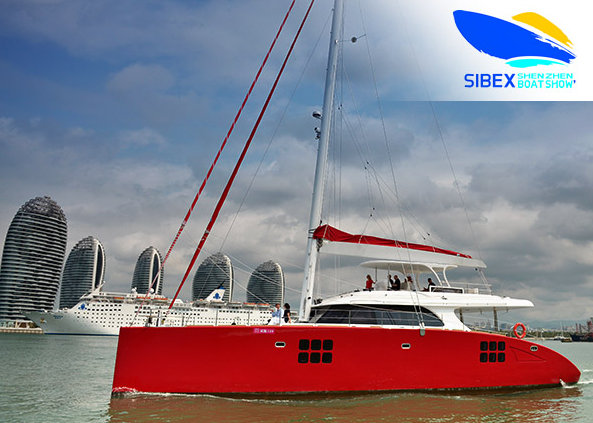 Sunreef Yachts to attend China SIBEX International Boat Show with Sunreef 70 Yacht FENG on display