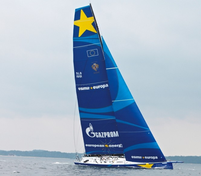 Superyacht Esimit Europa 2 under sail - Photo by Esimit Europa/Heinrich Hecht