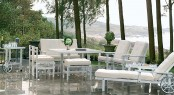 Terrace furniture by Fri Form