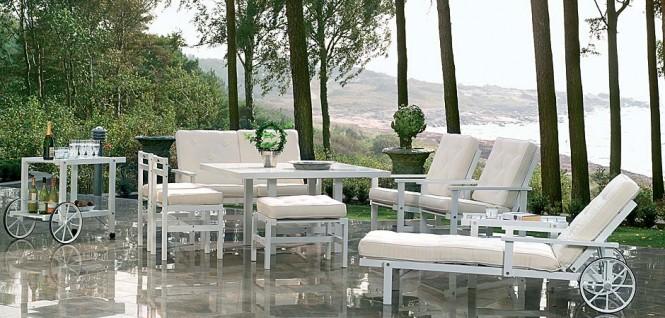 Terrace furniture by Fri Form