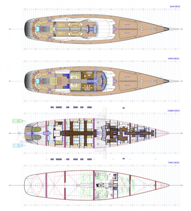Troy Yacht - Layout