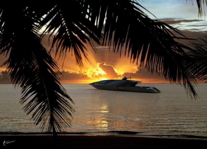 Black Swan Yacht Concept