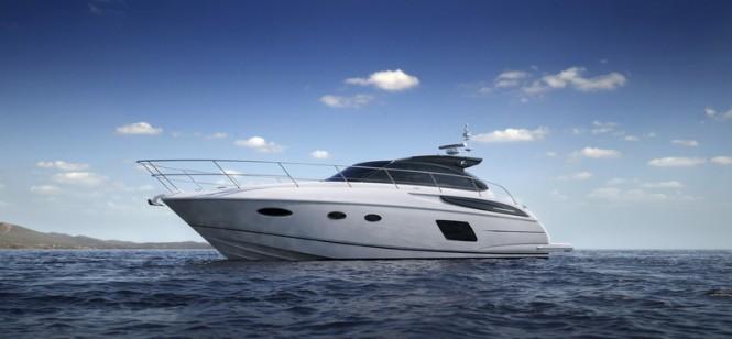 Luxury motor yacht Princess V48 Open