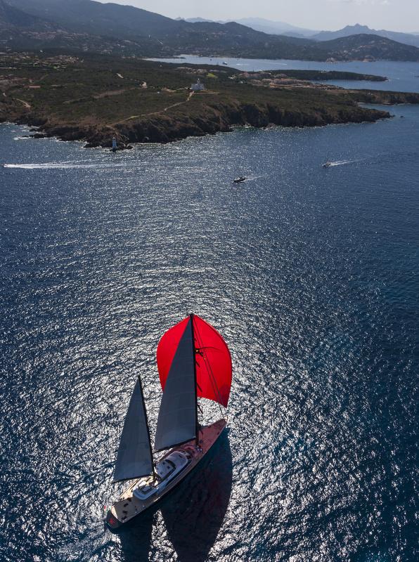 Luxury yacht Seahawk