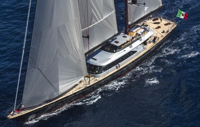 Seahawk superyacht - upview