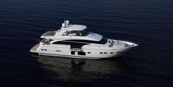 Superyacht Princess 88 by Princess Yachts
