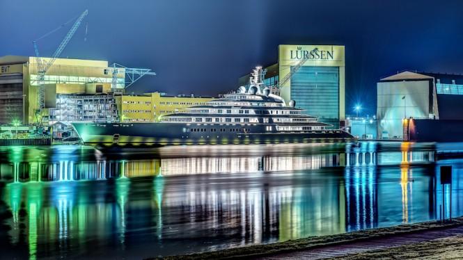180m Azzam Yacht - Photo Thomas Joswig