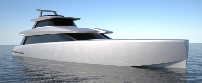24m Fifth Ocean and Brilliant Boats Yacht Fisherman Concept