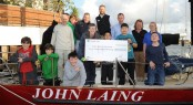 60,000 cheque for Ocean Youth Trust South from MDL Marinas
