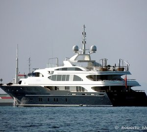 Photos and Video of 60m Benetti Mega Yacht SWAN (ex Lyana)