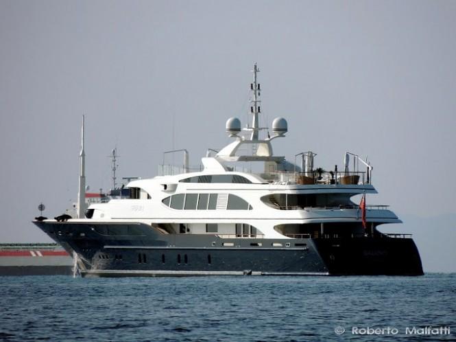 60m Benetti Motor Yacht SWAN (ex LYANA) - Photo Roberto Malfatti
