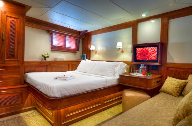 Accommodation aboard Mutiara Laut