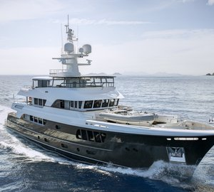 Award Winning Alloy Yacht CARY ALI featuring Maxwell Windlasses and Anchoring Equipment