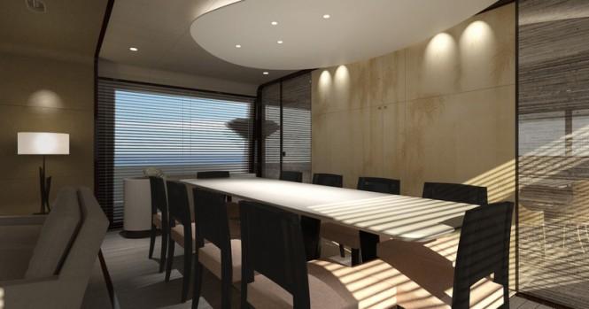 Azimut Grande 95RPH Yacht - Dinette