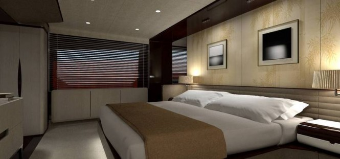 Azimut Grande 95RPH Yacht - Owners Cabin