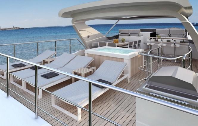 Azimut Grande 95RPH superyacht - Fly