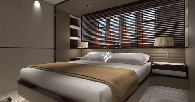 Azimut Grande 95RPH superyacht - VIP cabin