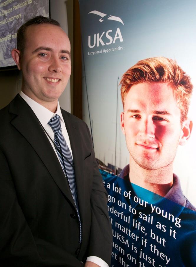 New UKSA Superyacht Crew Training recruit Brendan Kearley