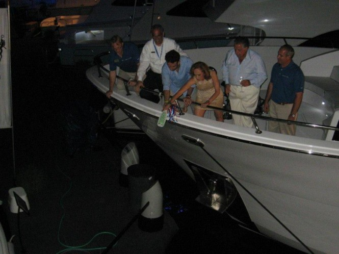 Christening of Mr. Loui Yacht