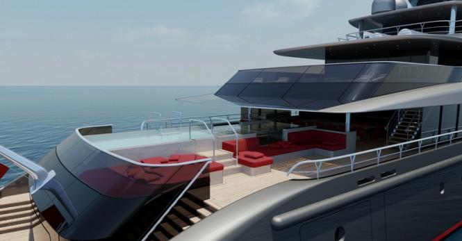 E-MOTION Yacht Concept - Exterior