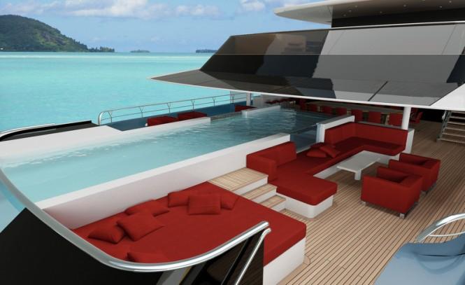 E-MOTION superyacht concept - Exterior
