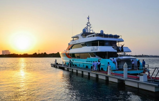 Exclusive reception held for Majesty 135 Yacht