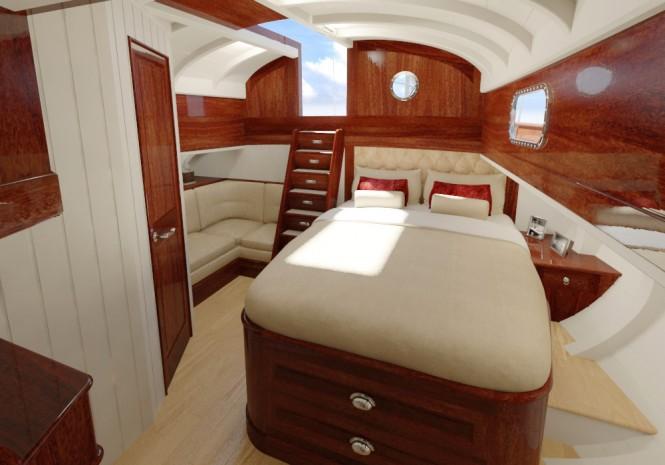 F77 yacht design - Cabin