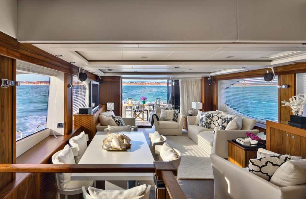 Interior of yacht 88 project designed by casa do passadico yacht charter superyacht news - Yates de lujo interior ...