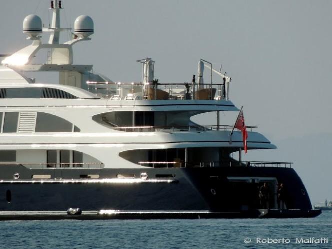 Luxury Mega Yacht SWAN - Benetti - Photo Roberto Malfatti