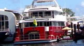 Luxury motor yacht Mazu on display at FLIBS 2013