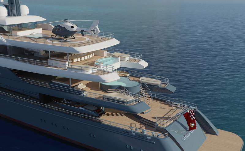 concept mega luxury yachts Car Tuning
