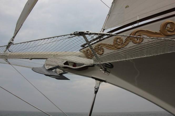 Luxury yacht Mikhail S. Vorontsov