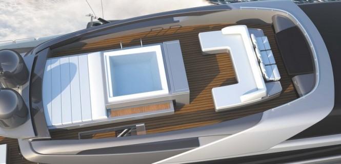 Luxury yacht Mythos - Flybridge