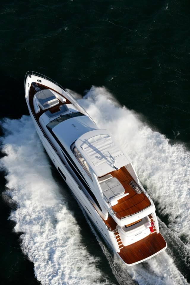Luxury yacht Princess 88