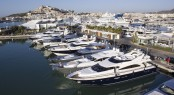 Marina Ibiza in the popular Spanish yacht charter destination - Ibiza