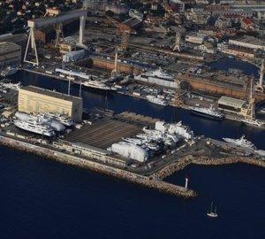 Monaco Marine La Ciotat enjoys busy refit season