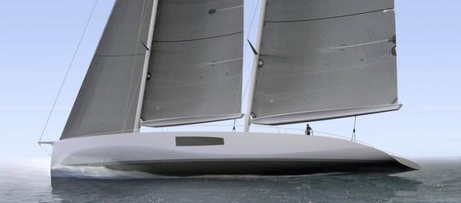 New 36m schooner concept by Persak & Wurmfeld