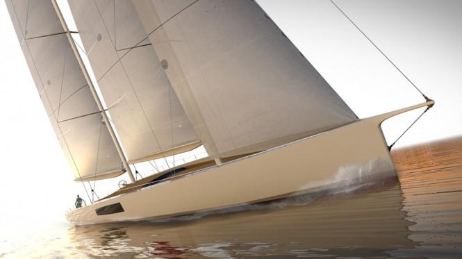 New 44m schooner by Persak & Wurmfeld and Derecktor Shipyards
