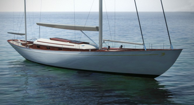 New sailing yacht Fairlie 77 design by Fairlie Yachts