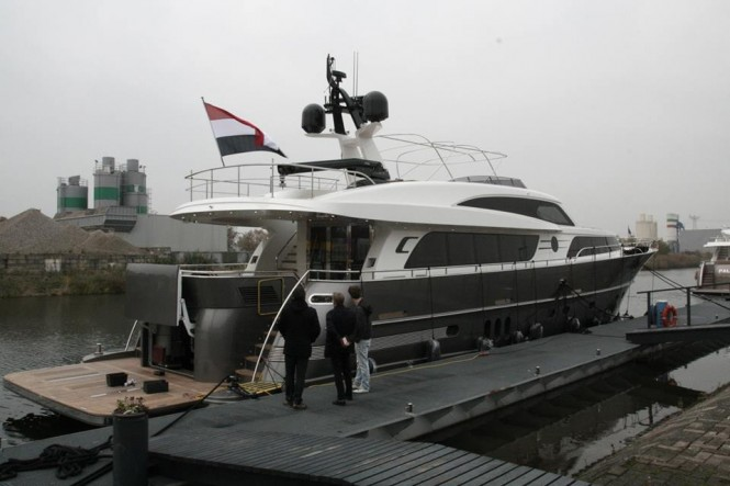 Newly launched Continental III 26.00 RPH Yacht