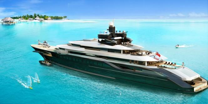 Oceanco mega yacht RIALTO design