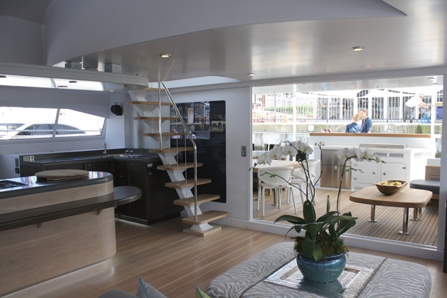 Open Ocean 750 Sailing Catamaran HQ2 - Interior