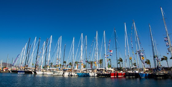 Oyster yachts on course for the lovely Caribbean yacht charter destination - St Lucia