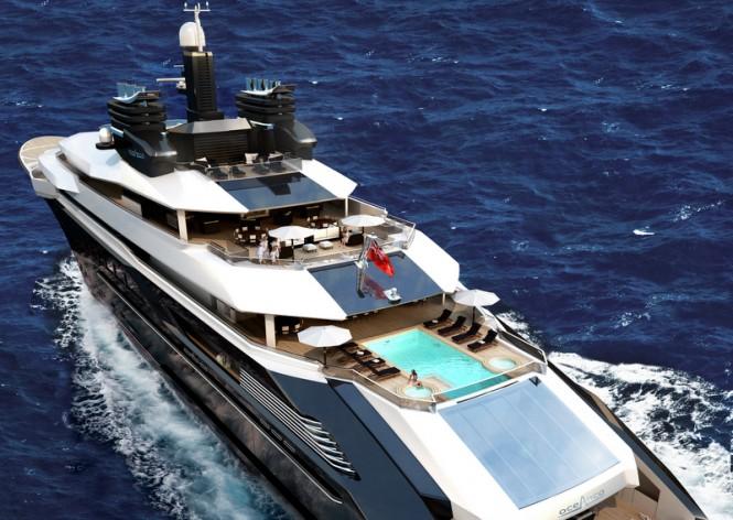 RIALTO Yacht Concept - Decks