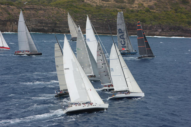 RORC Caribbean 600 Yacht Race - Photo credit to Tim Wright/photoaction.com