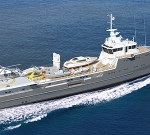 Damen launch second Sea Axe 6711 Fast Yacht Support vessel