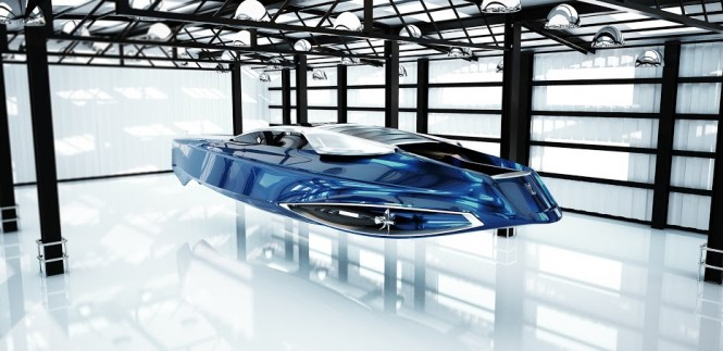 Rolls-Royce 450EX superyacht tender project by Stefan Monro