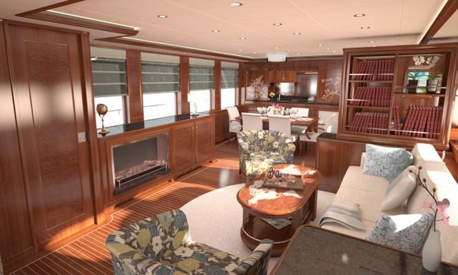 Selene 78 Ocean Explorer yacht - Interior